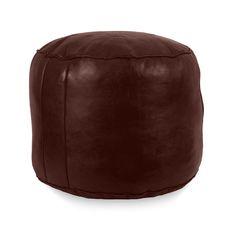 Tabouret Leather Pouf | Joss & Main