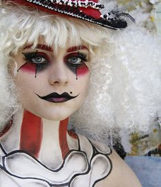 scary jester makeup | Kids love having there face's painted and so do ADULTS let everybody ...