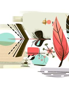 i love mid century (poster 1) on the behance network