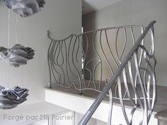 garde-corps mezzanine en fer forgé le style actuel