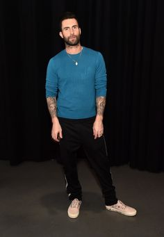 """Adam Levine Photos - Adam Levine poses for a photo during NBC's """"The Voice"""" Season 13 on November 2017 in Universal City, California. - Adam Levine Photos - 1 of 4036 Maroon 5, Adam Noah Levine, Adam Levine Style, The Voice, Universal City, Meghan Trainor, Vanity Fair Oscar Party, Adam And Eve, Together Forever"""