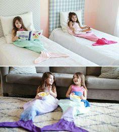 Cute mermaid blankets