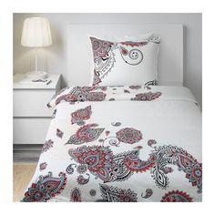 STICKBRÄCKA Bettwäscheset, 2-teilig - 140x200/80x80 cm  - IKEA - Werbung #Schlafzimmer #Textilien #Wohntextilien #Bettwäsche #Wäscheset #Bettwäscheset #Wohnacccessoirs #Accessoirs #Wohnen #Deko #Wohndeko #Dekoration