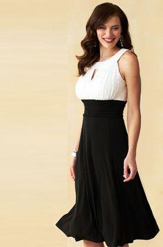 Dress Barn black and white