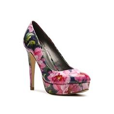 G by GUESS Winna Floral Platform Pump.... omg I got this last week they are amazing. When u open the box it's like spring magic