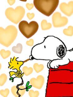 Fondo animado de Snoopy y Emilio para descargar gratis.
