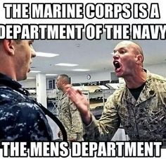 """""""You see this hand"""". A Marine instructs a Midshipman Marine Corps Quotes, Marine Memes, Marine Corps Humor, Us Marine Corps, Military Quotes, Military Humor, Military Life, Usmc Quotes, Military Weapons"""