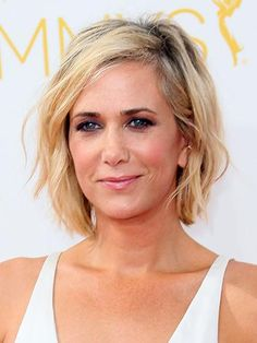 (Not sayin' I'm in my forties or anything... but here are allure's idea of The Most Flattering Haircuts for Women in Their 40s. I do love Kristen wiigs hairstyle here.