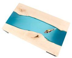 Decorativa mesa de centro / muebles de resina mesa de centro /