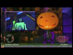 For your Halloween Party or Halloween Outdoor decorations, use ultra violet light (also known as black light) to make decorations and props glow. In this video, we give a tip on how to keep the cost down. If you buy a pre-made blacklight ficture from a party or holiday store, they will charge you much more money than you need to spend. Check out this way to economically use black lights to make your Halloween decor glow!