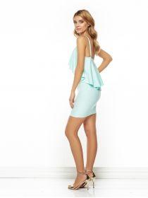 Sukienka Janine w kolorze miętowym