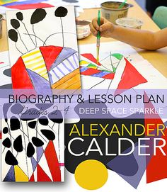 Alexander Calder is my new favorite artist. I purchased a fantastic book on Calder last Spring and have fallen crazy in love with his art. I've seen many lessons inspired by Calder's Circus, and while I would love to tackle one, my art program is just so small (meaning I don't see my students very often). Would we …