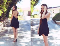 Silk And Leather (by Bethany Struble) http://lookbook.nu/look/3879708-Silk-And-Leather