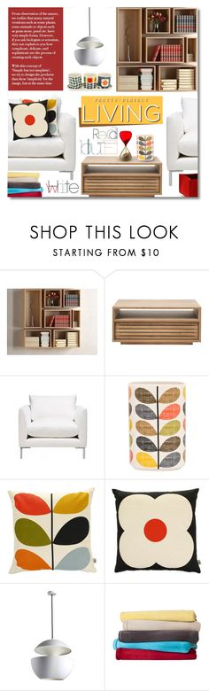 """""""Untitled #1151"""" by valentina1 ❤ liked on Polyvore featuring interior, interiors, interior design, home, home decor, interior decorating, Orla Kiely, Room Essentials, Venini and Hey Sign"""