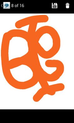 This symbol is  letters of my boyfriend nickname and my nickname. It is cool isn't? It's like buterfly