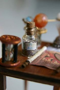 potions and hourglass