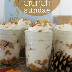 Pumpkin Crunch Sundae & Pie Bar Ideas
