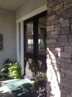 Double front door @Sheree Stephenson Stephenson Stephenson Plumb