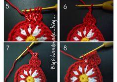 Handmade BIGU: Granny Cactus Flower Cactus Flower ... Granny ...