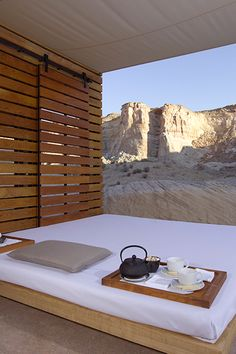 Amangiri in Utah is a #Fodors100 winner in the Trip of a Lifetime category. It has stunning accommodations inside and out.