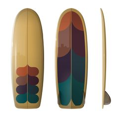 This is a Limited Edition artist collaboration featuring Shapes by Driftwood Caravan and artwork by Surfing with Friends - Mauro Ferraro. The plan shape is my 5'6 SIM (Mini Simmons). The DC Sim is my