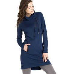 This comfy chic dress is so versatile! Wear it as a dress or with leggings and a…