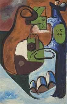 LE CORBUSIER (CHARLES-JEANNERET DIT, 1887-1965) NATURE MORTE