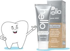 Get your FREE sample of Hello Extra Whitening toothpaste while this awesome freebie offer is still available! Don't forget to send a sample to a friend! Free Samples By Mail, Free Makeup Samples, Store Coupons, White Teeth, Love Is Free, Free Things, Whitening, Pure Products, Bottle