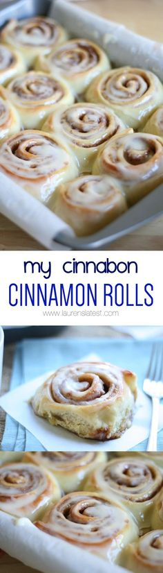 My Cinnabon Cinnamon Rolls... OMG!  This is the ONLY cinnamon roll recipe I use! They turn out perfect every time!