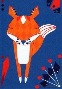 Folklore #7 - Kettu 1.00€ Foxes, Folklore, Illustration, Prints, Movie Posters, Fictional Characters, Animal, Art, Art Background