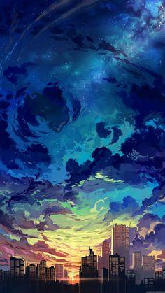 117 best aesthetic anime wallpaper images on anime art Fantasy Landscape, Landscape Art, Sunset Landscape, Landscape Design, Landscape Paintings, Pastel Landscape, Contemporary Landscape, Aesthetic Art, Aesthetic Anime