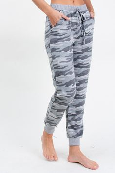 Camo Print Jogger Pants Jogger Pants, Joggers, Grace And Co, Autumn Morning, Camo Print, Contemporary Fashion, French Terry, Camouflage, Love Fashion
