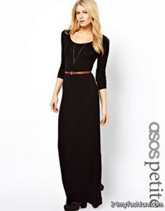 Nice Black petite maxi dress 2018-2019 Check more at http://24myfashion.com/2016/black-petite-maxi-dress-2018-2019/