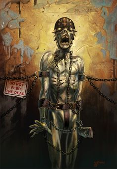 Do Not Feed The Dead #zombies