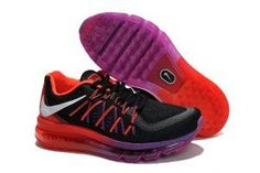 Nike Air Max Women's Running Shoe Purple Red Black