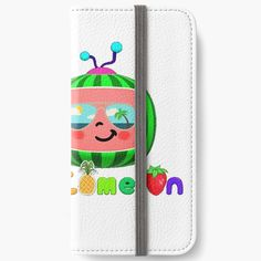 'Cocomelon kids sunglasses' iPhone Wallet by StefaniaAlina Kids Sunglasses, Sunglasses Case, Iphone Wallet, Chiffon Tops, V Neck T Shirt, Classic T Shirts, Phone Cases, Art Prints, Printed