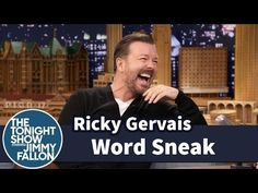 ▶ Word Sneak with Ricky Gervais - YouTube
