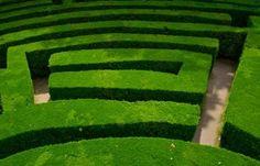Adrian Fisher, Labirinto, villa Pisani, Stra, Italia