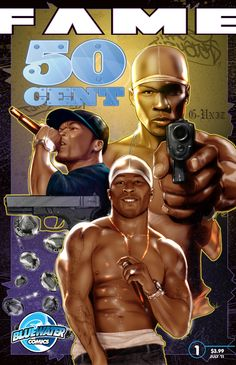 """50 Cent''s life is as dramatic as any of his songs. Bluewater takes a look at the rapper''s life, his feuds and, most importantly, his music. This new comic series has been featured in """"Rolling Stone"""", """"E! Entertainment Television"""", """"New York Times"""" and thousands more sites. Now in print and Itunes, Nook & Kindle."""