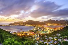 Beautiful views with sunset at St. Martin!   #caribbean #travel #traveling #Stmartin