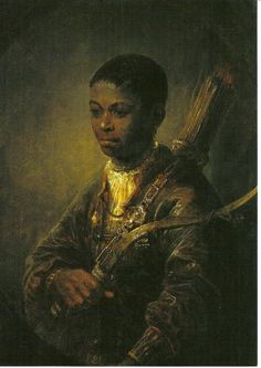 A Young Archer by Govaert Flinck  A young soldier of the holy roman empire during the thirty years war (1618-1648)