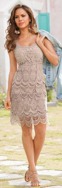 Flirty Crochet Dress | BuyerSelect.com