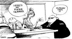 NSA, PRISM & Government Surveillance Humor: It's Funny 'Coz It's True!