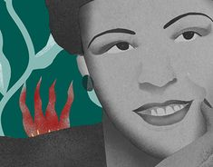 Billie Holiday, Digital Illustration, New Work, Behance, Photoshop, Profile, Portrait, Gallery, Music
