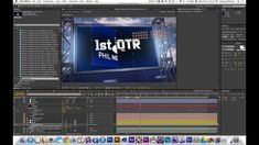 C4D to AE Football Screen Tutorial