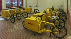 DHL cargobikes