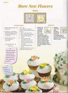 Royal Icing Flowers, Buttercream Flowers, Cake Piping Techniques, Wilton, Piping Tips, Mary Berry, Cake Icing, Cake Decorating Tutorials, Flower Nails