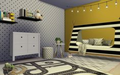 The Sims, Sims Cc, Sims 4 Mods, Murs Beiges, Bmw Cafe Racer, Sims 4 Houses, Sims 4 Cc Finds, Sims 4 Custom Content, Room Set