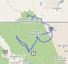 2016 Montana and Canada Bicycle Tours - Bike Glacier, Banff and Jasper