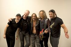 Metallica and Iggy Pop Mexico City, Mexico - March 2017 Jason Newsted, Cliff Burton, Dave Mustaine, Iggy Pop, James Hetfield, Thrash Metal, Iggy And The Stooges, Best Guitar Players, Band Photography